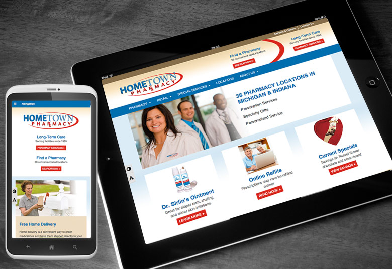 HTP Website for Tablet and Mobile