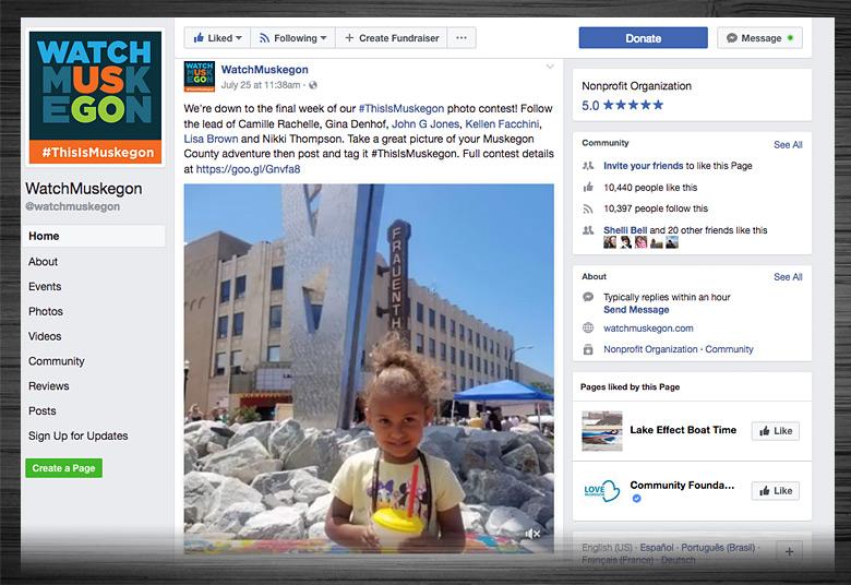 Watch Muskegon Facebook Page