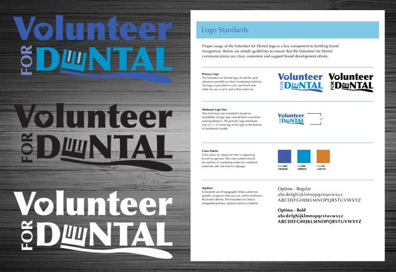 Volunteer for Dental Logos