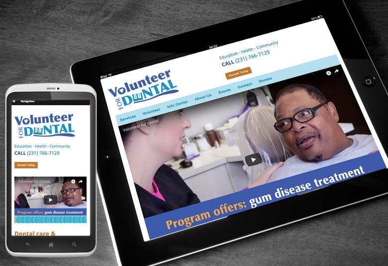 Volunteer for Dental Website