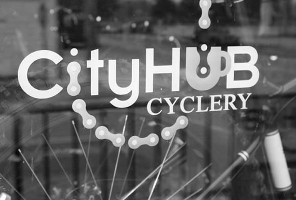 CityHub Cyclery Shop Window