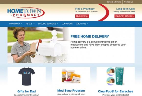 HTP Website Layout