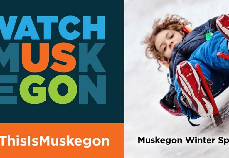 Boy on Luge Watch Muskegon